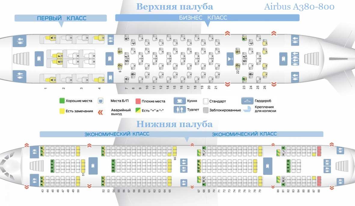 Airbus a380 800 схема салона лучшие места фото 138