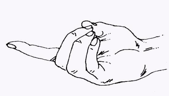 vajra-mudra